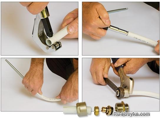 Соединить металлопластиковые трубы