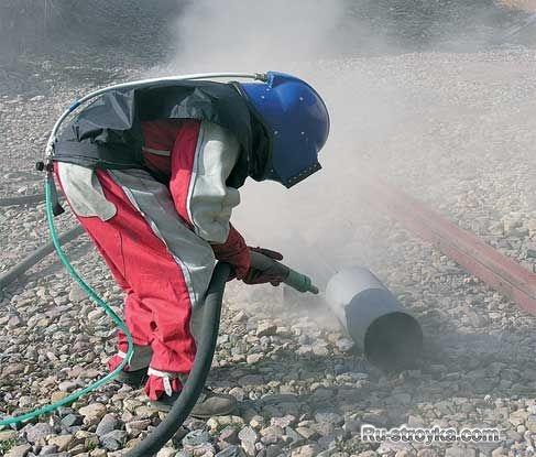 Пескоструйные аппараты: особенности применения на строительной площадке