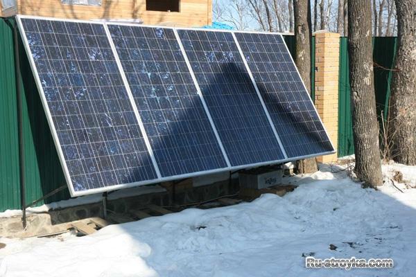 Купи солнечные панели - реши проблему электрификации дачного дома