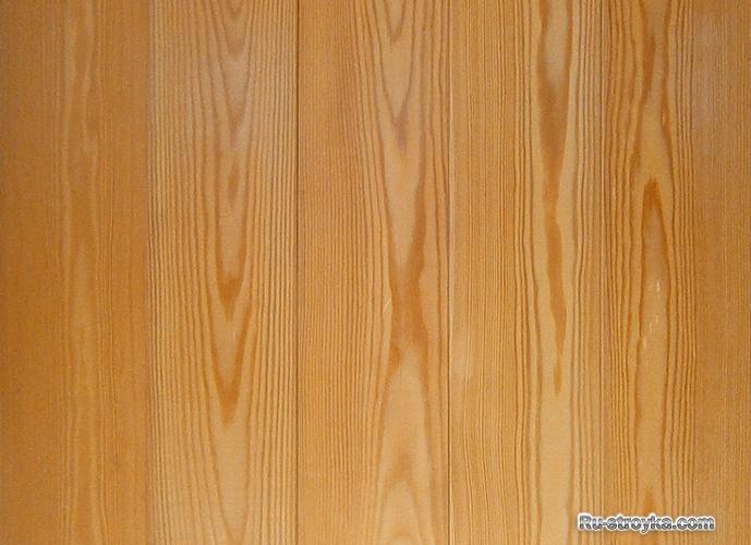 Преимущества отделки стен лиственницей