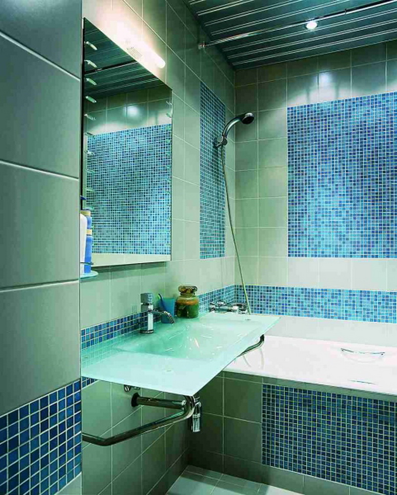 Ванная комната на квадратных метра дизайн