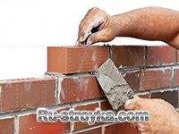 Как крепить кирпичные перегородки к потолку, к стене и полу