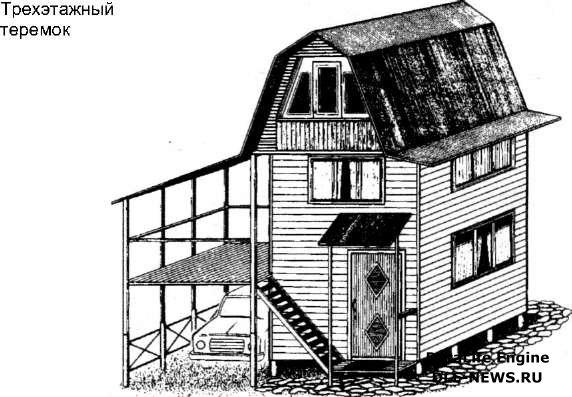 Как построить дачный домик своими