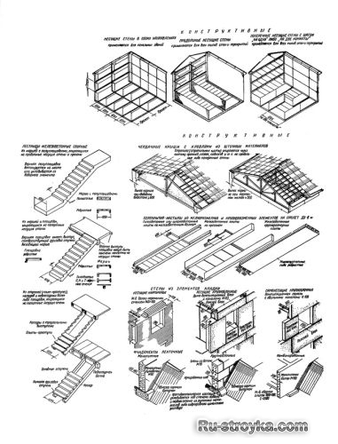Жилые здания. Конструктивные
