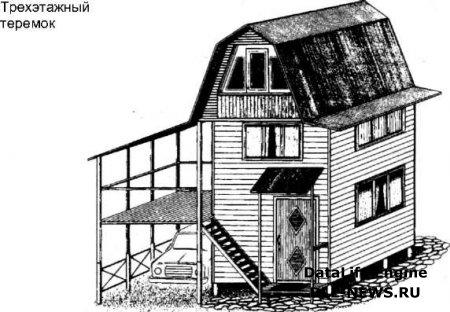 Дачный домик своими руками-1