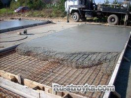 Пропорции материалов для бетона