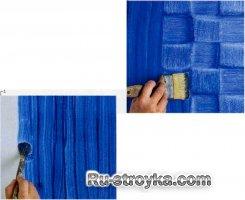 Декорирование красками на масляной основе-часть 1