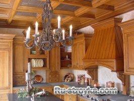 Обшивка потолков древесиной
