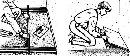 Покрытие из сосновой доски