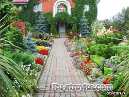 Ландшафтный дизайн загородного участка – главное соблюдать гармонию