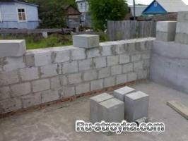 Внутренние стены и перегородки из ячеистого бетона