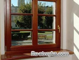 Особенности монтажа деревянных окон.