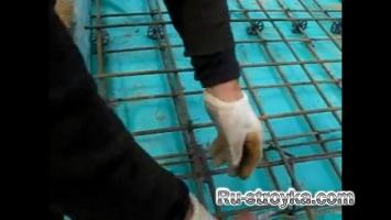 Вязка арматуры винтовым крючком