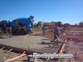 О заливке бетоном – фундамент