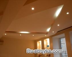 Подвесные потолки из готовых модулей