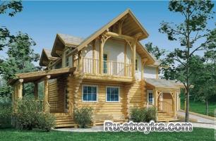 Сказочный дом среднего размера