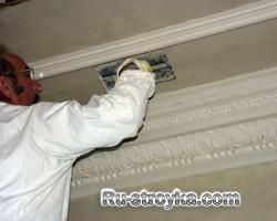 Подготовка поверхности потолка к отделке