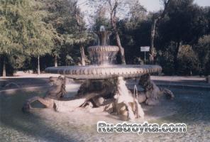 Городские и парковые фонтаны
