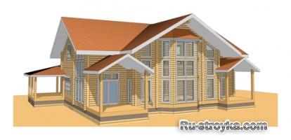 Комфортный деревянный дом