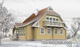 Современный деревянный коттедж