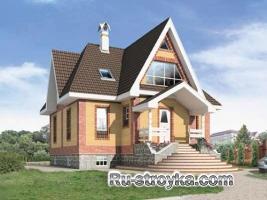 Эксклюзивный деревянный дом