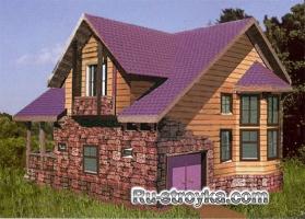 Эксклюзивный деревянный коттедж
