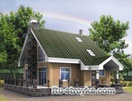 Уютный деревянный дом