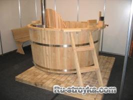 Традиционная японская баня офуро.