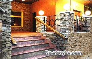 Лестницы из кирпича и бетонных блоков.