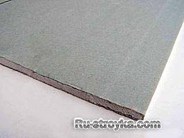 Обработка гипсокартонных листов.