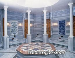 Строим турецкую баню - хамам.