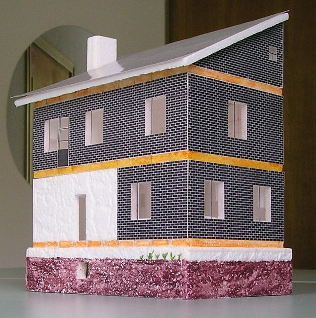 Как сделать из пластилина домика
