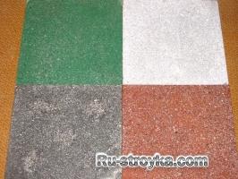 Полы из бетонно-мозаичных плит