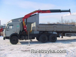 Краны-манипуляторы, грузовой момент 4-10 т.м