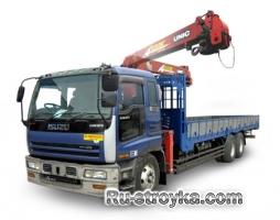 Краны-манипуляторы, грузовой момент 1-4 т.м