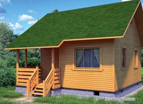 Как построить дачный дом своими руками недорого
