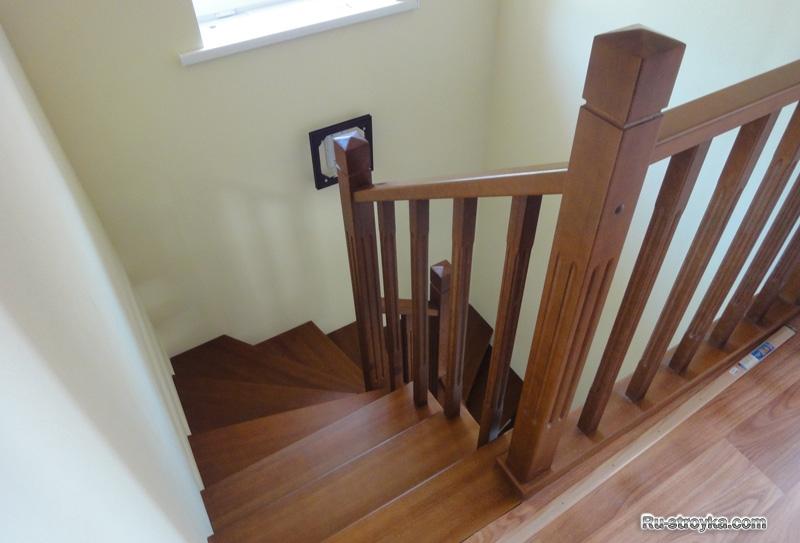 забежная лестница фото