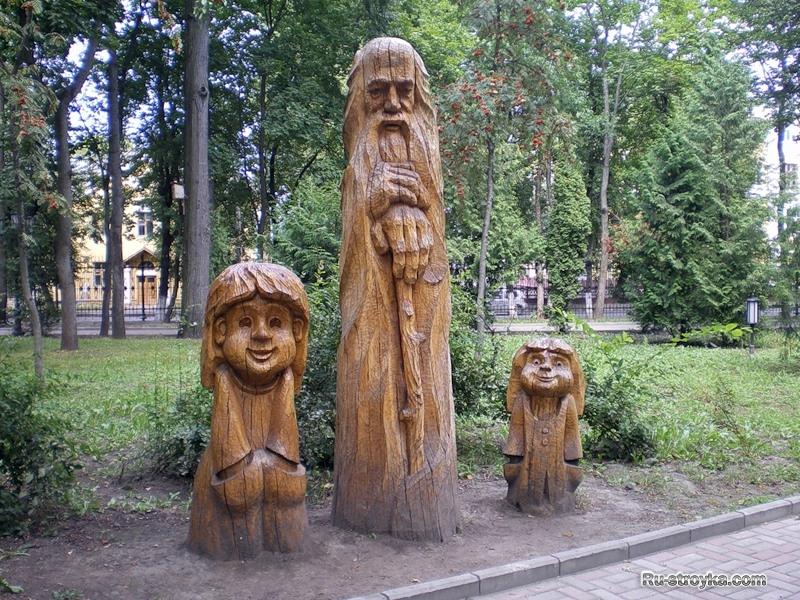 Деревянные скульптуры своими руками фото 8