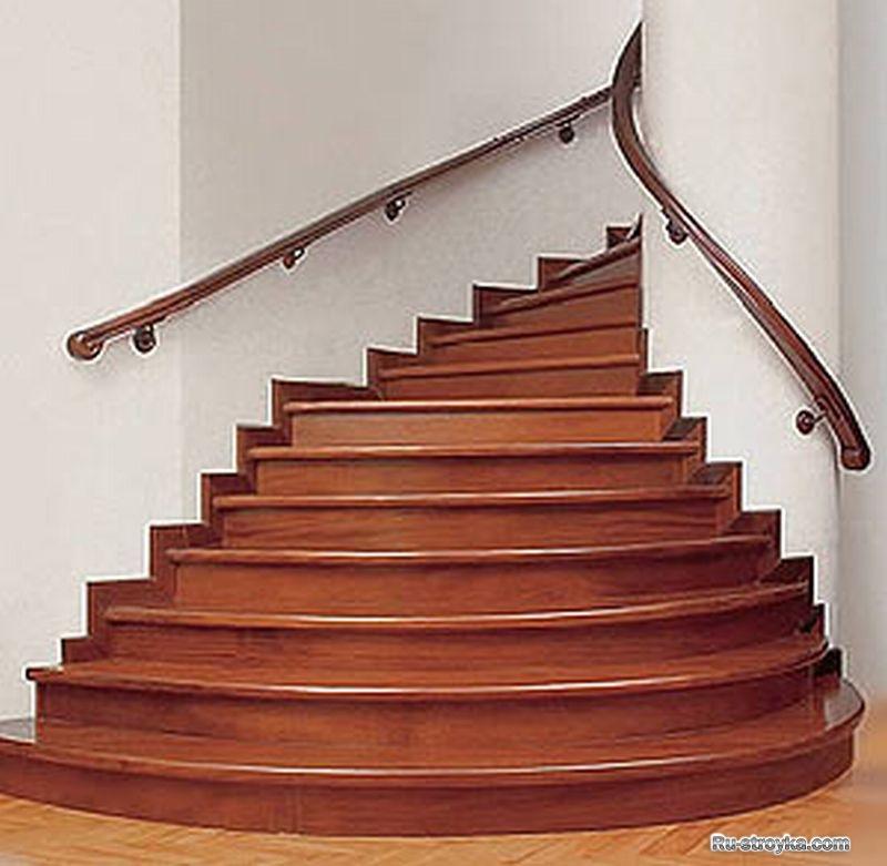 Отделка лестницы ламинатом фото