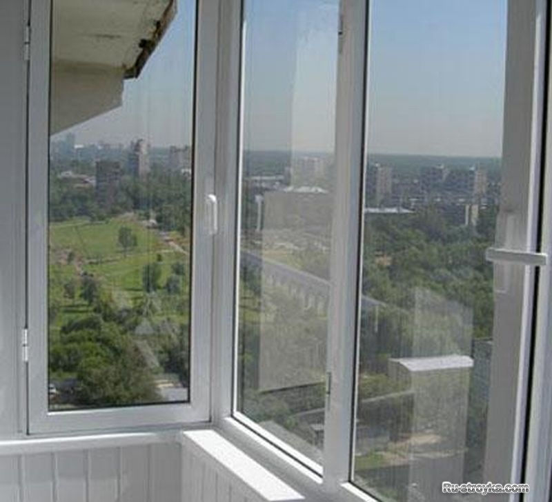 Заказать остекление балкона и лоджии пластиком под ключ в до.