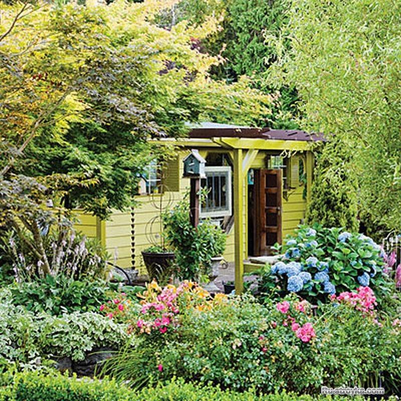 Сад моей мечты своими руками фото