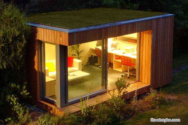 Экологичные и дешевые дома своими руками 72