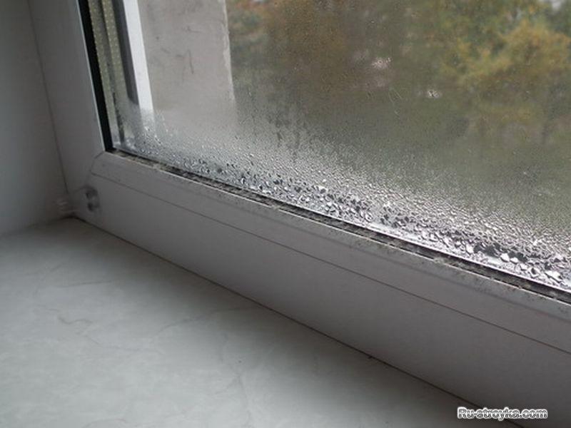 Потеют окна на балконе. - остекление лоджий - каталог статей.