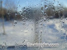 Как бороться с конденсатом на пластиковых окнах