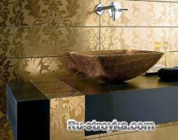 Как самому облицевать плиткой ванную комнату
