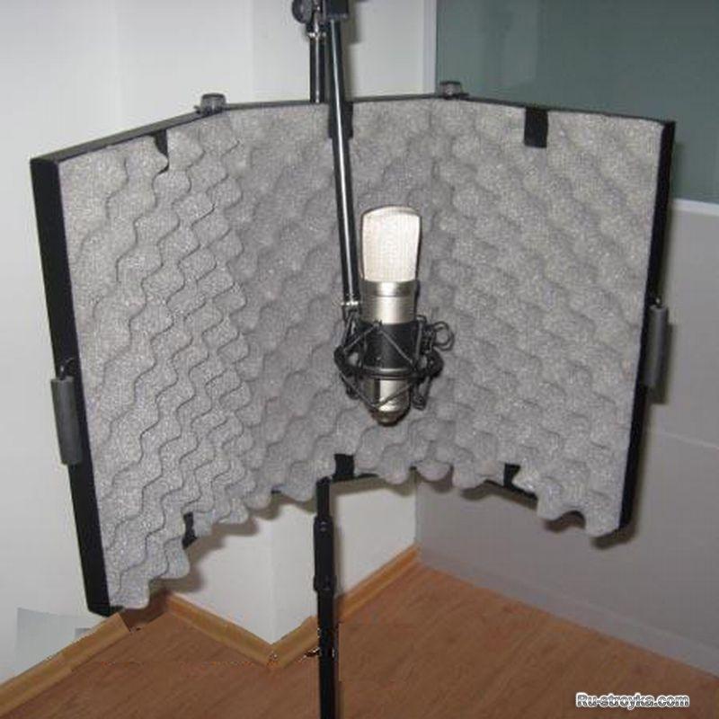 Акустический экран для микрофона своими руками видео 184