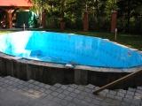 Пластиковый бассейн, сварной