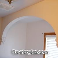 Изготовление арки из гипсокартона.