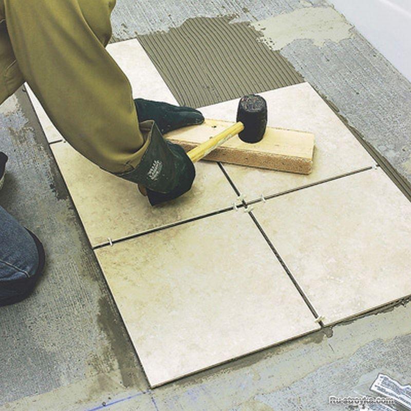 Способ изготовления керамической плитки своими руками