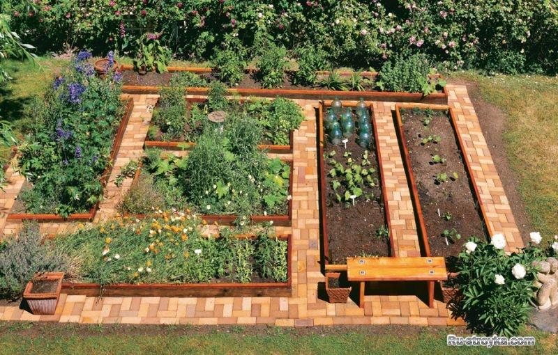 Самые красивые садовые участки фото